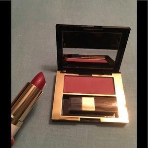 Estée Lauder Orchid Lipstick & Mauve Blush